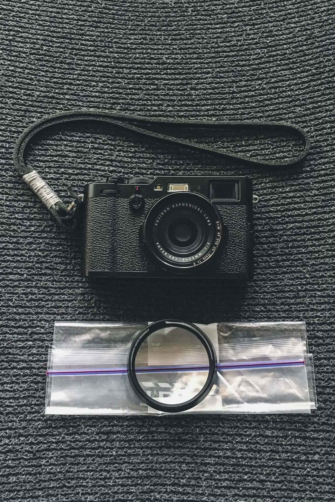 Fujifilm X100F Weatherproof Hack – Loïc Magnien Street Photography