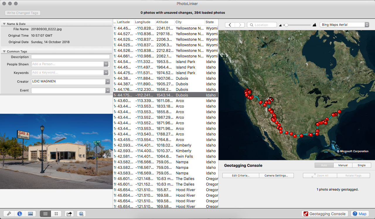 Loic Magnien Adobe Lightroom Map Module Not working Not supported Photolinker solution
